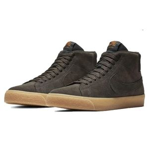 Nike SB Zoom Blazer Mid Brown Suede